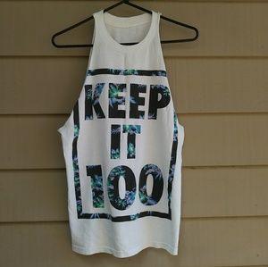 Other - Keep it 100 DIY mens tank top streetwear